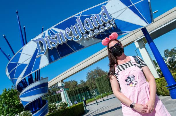 CA: Disneyland Reopens For First Time Since Beginning Of Pandemic