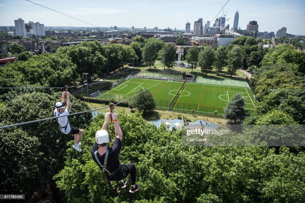 Would You Brave Londonu0027s New Zip Wire?
