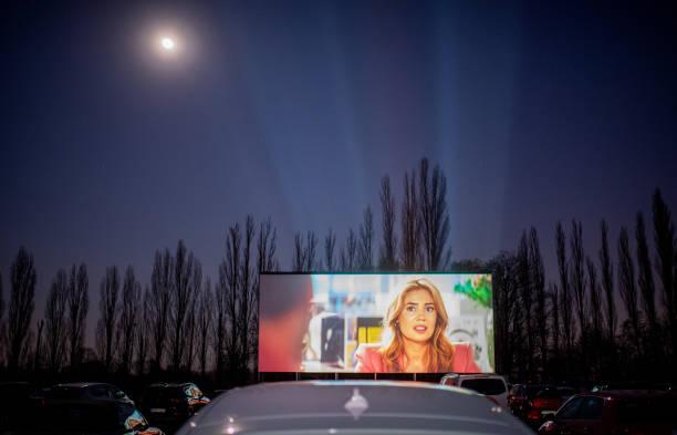 DEU: Drive-In Cinemas Have Booming Business During The Coronavirus Crisis
