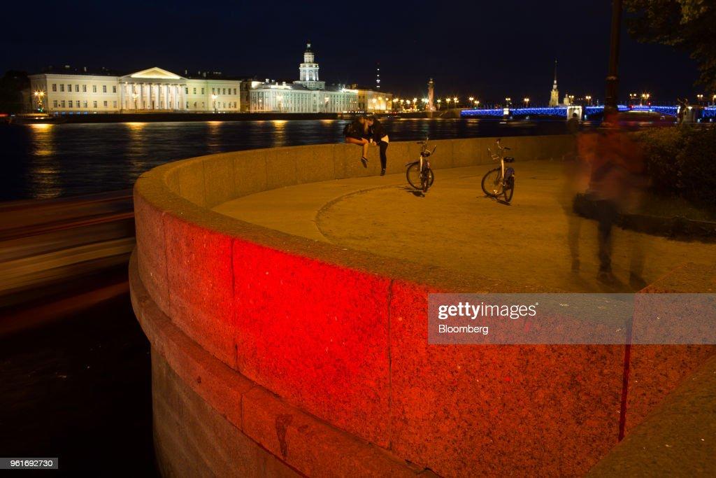 Preparations Ahead Of The St Petersburg International Economic Forum 2018