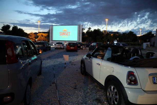 ITA: Cinecittà Studios Sunset Drive-In Opening