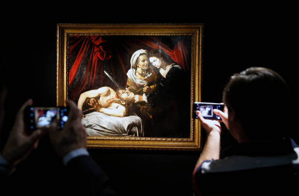"FRA: ""Judith Et Holopherne"" : Exhibition At Drouot Prior le Caravage's Artwork Go To Auction"