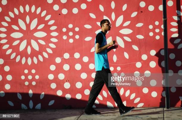 Besucher Wynwood während der Art Basel Miami Beach