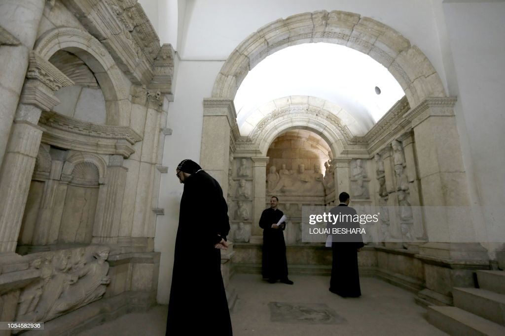 Visitors Tour The National Antiquities Museum In The Syrian Capital