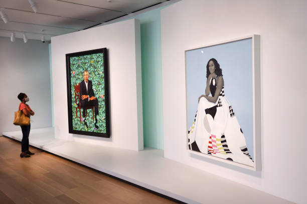 IL: Obama Presidential Portraits On Display In Chicago