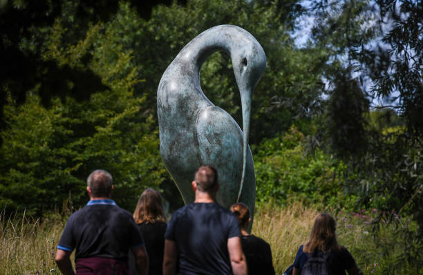 GBR: Sculpture By The Lakes Arts Festival Opens As Lockdown Eased