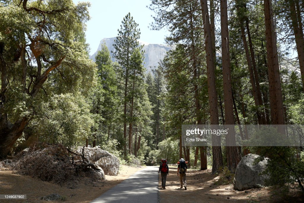 Yosemite National Park Reopens After Months Of Closure Due To Coronavirus Pandemic : News Photo