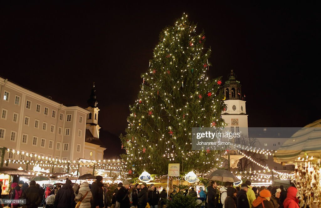 Christmas Atmosphere in Salzburg : News Photo