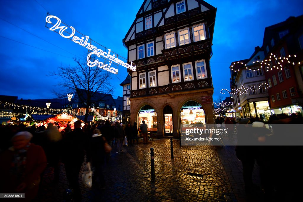 Christmas Markets Draw Visitors In Annual Tradition