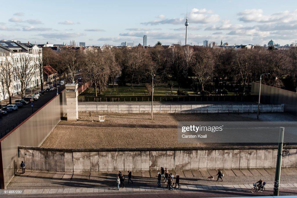 The Berlin Wall Has Been Down For Longer Than The Years It Stood During The Cold War : News Photo