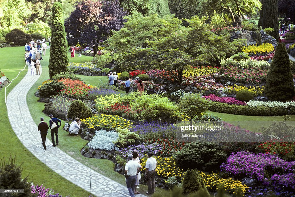The Sunken Gardens : Stock Photo