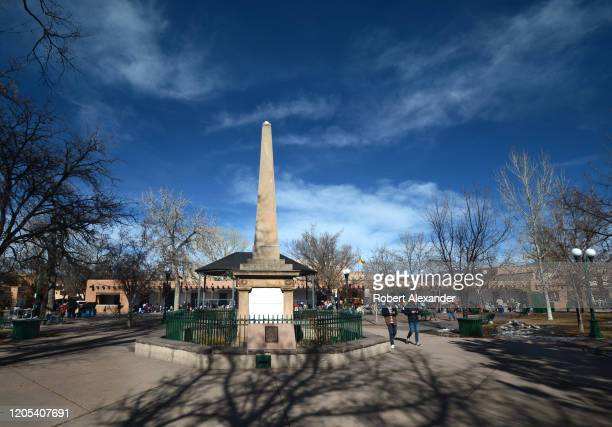 1 013 Santa Fe Plaza Photos And Premium High Res Pictures Getty Images