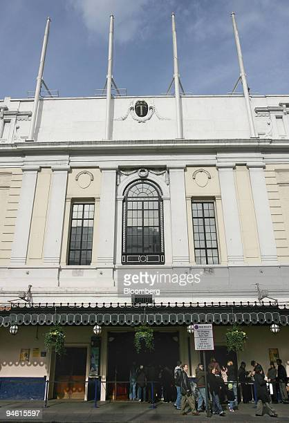 Visitors walk past the outside of Madame Tussaud's waxworks museum in London, Monday, March 5, 2007. Blackstone Group LP agreed to buy Tussauds...