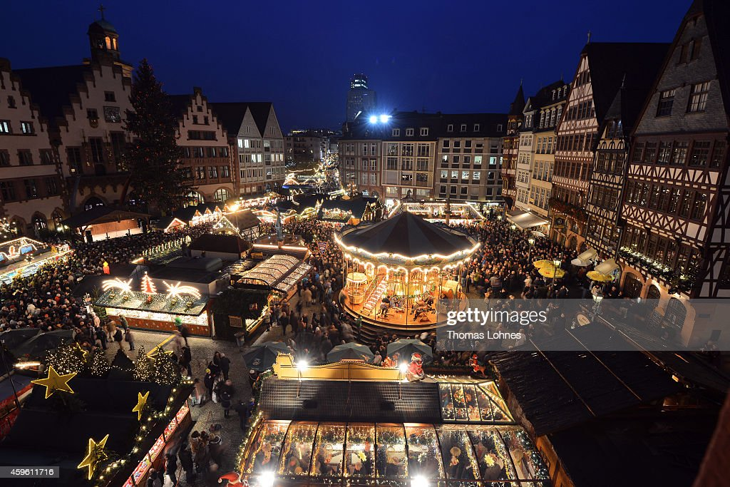 Situated on the Romerberg and St Paul's Square in Frankfurt is one of the largest Christmas markets.