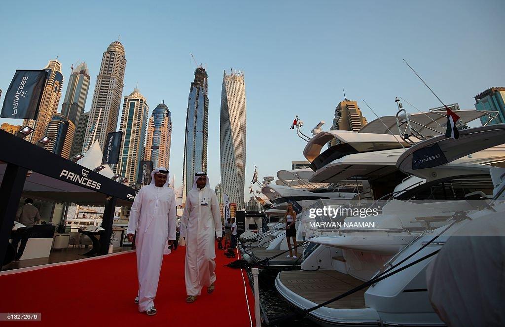 UAE-BOAT-SHOW : News Photo