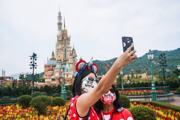 CHN: Hong Kong Disneyland Reopens as Restrictions Ease