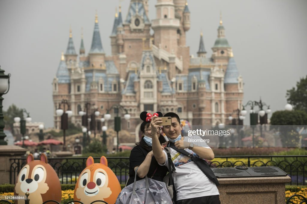 Shanghai Disneyland Reopens Following Closures Due To Covid-19 : News Photo