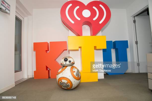 BB8 visits KTU 1035 at iHeart Radio on December 15 2017 in New York City
