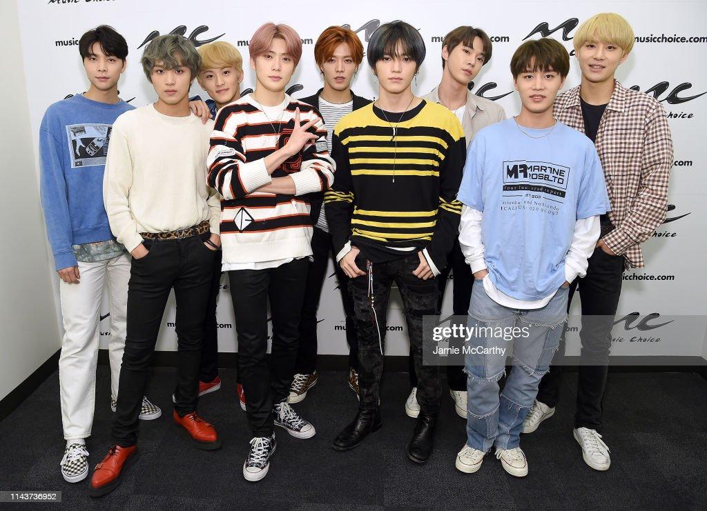NY: NCT 127 Visits Music Choice