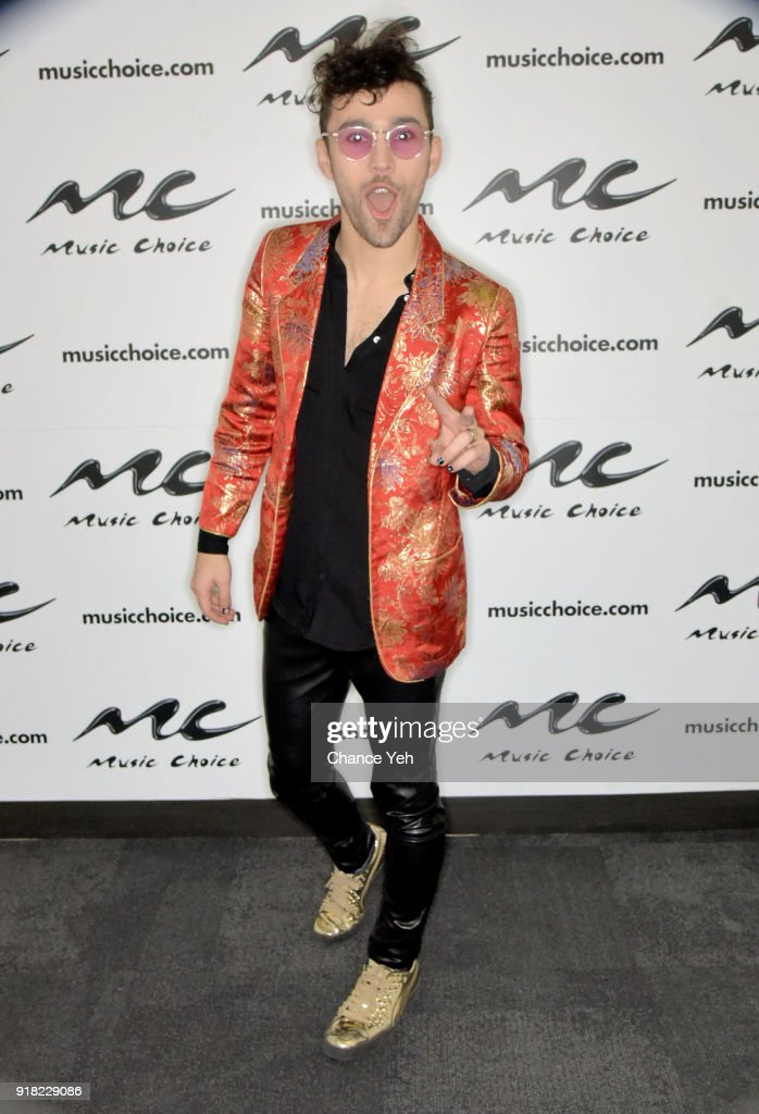 MAX visits Music Choice on February 14, 2018 in New York City.