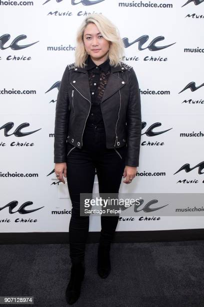 MILCK visits Music Choice on January 19 2018 in New York City