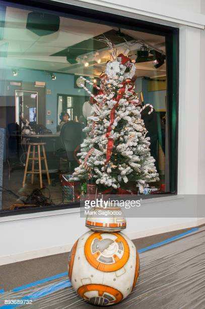 BB8 visits 'The Elvis Duran Z100 Morning Show' at iHeart Radio on December 15 2017 in New York City