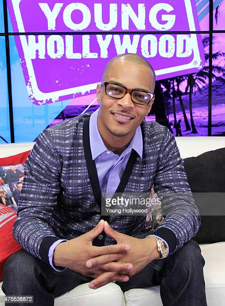 TI visits the Young Hollywood Studio on June 1 2015 in Los Angeles California