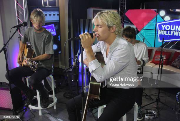 R5 visits the Young Hollywood Studio on June 7 2017 in Los Angeles California