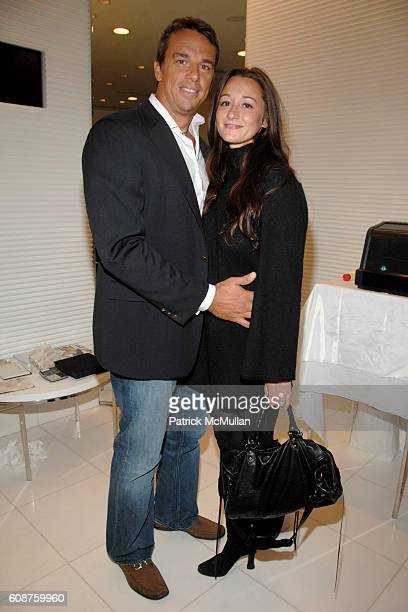 Vissicchio and Alexandra Osipow attend ROYAL CHIE 2007 by CHIE IMAI preview hosted by TINSLEY MORTIMER and CHIAKI IMAI at CHIE on October 2 2007 in...