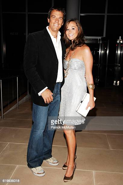 Vissicchio and Alexandra Osipow Vissicchio attend The Young Friends of the ASPCA Presents 'The Shaggy Dog' at The IAC Building on October 16 2008 in...
