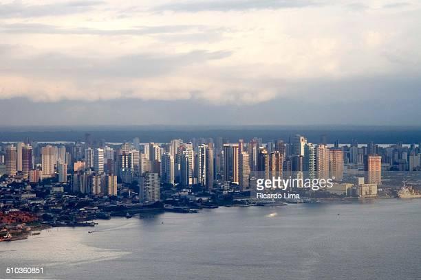 vista aérea da cidade de belém - vista aérea stock pictures, royalty-free photos & images