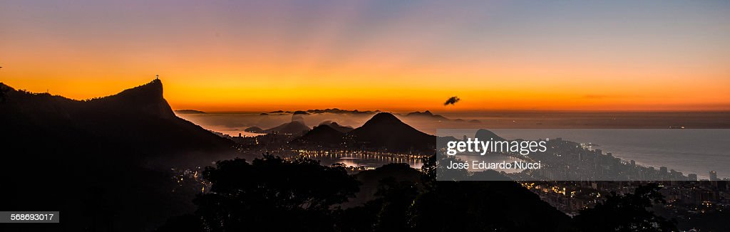 Vista Chinesa, Rio de Janeiro : Stock Photo