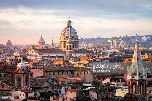 Vista from near Piazza del Popolo, Rome, Italy