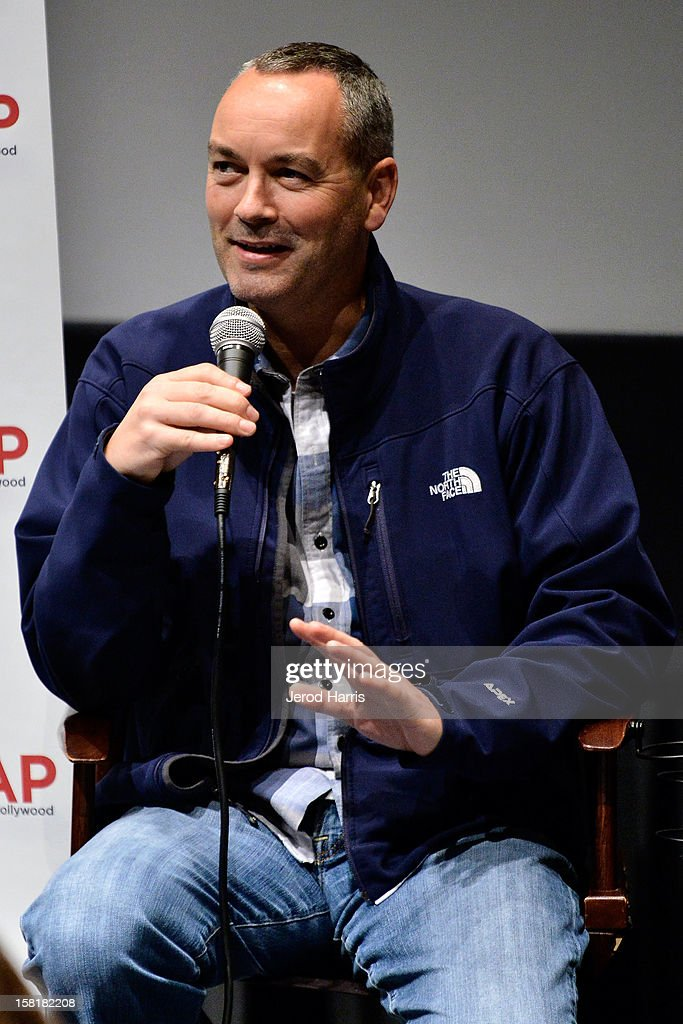 Visual effects artist Erik de Boer participates in a Q&A following TheWrap's Awards Season Screening Series of 'Life Of Pi' on December 10, 2012 in Los Angeles, California.