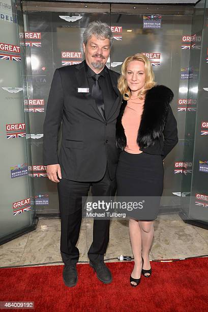 Visual Effects artist Ian Hunter and guest attend the GREAT British film reception honoring the British nominees of the 87th Annual Academy Awards at...