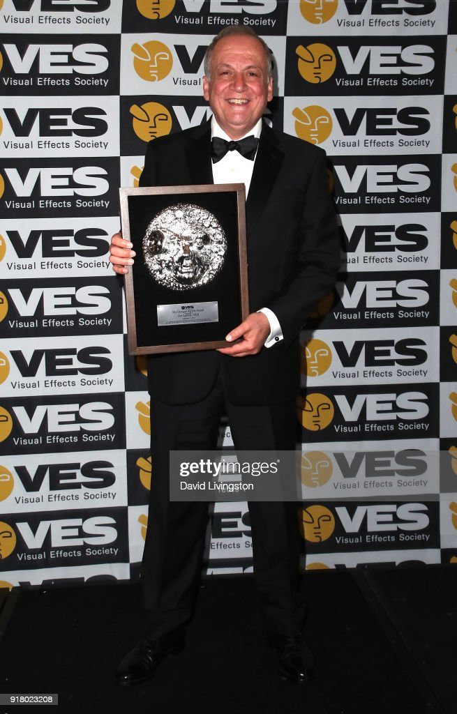 Visual effects artist Joe Letteri attends the press room at the 16th Annual VES Awards at The Beverly Hilton Hotel on February 13, 2018 in Beverly Hills, California.