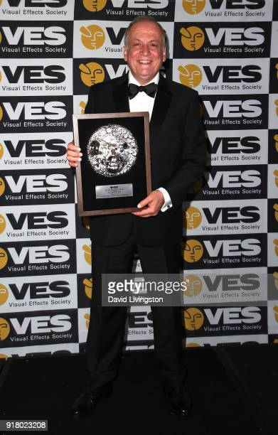 Visual effects artist Joe Letteri attends the press room at the 16th Annual VES Awards at The Beverly Hilton Hotel on February 13 2018 in Beverly...