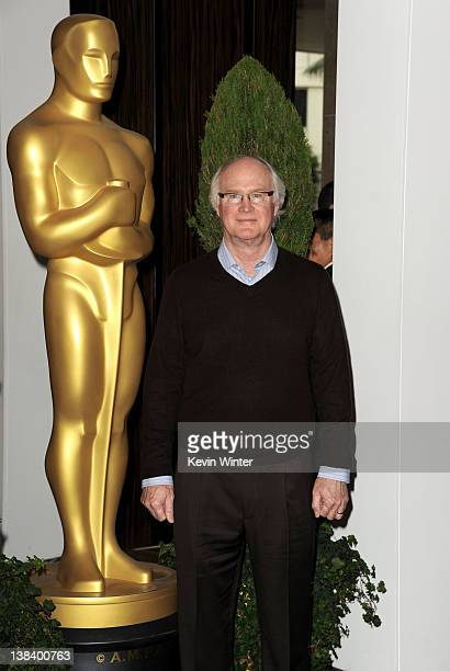 Visual Effects artist Scott Farrar arrives at the 84th Academy Awards Nominations Luncheon at The Beverly Hilton hotel on February 6, 2012 in Beverly...