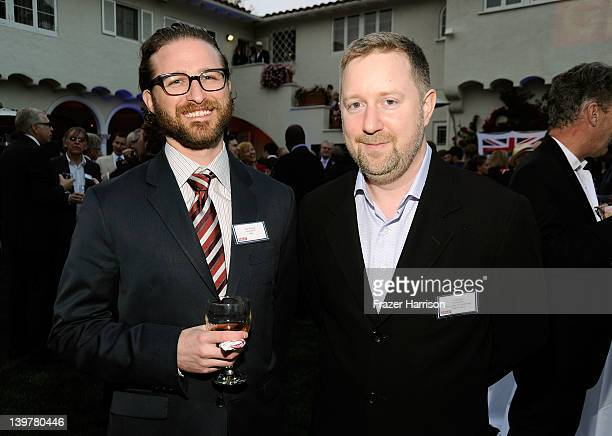 Visual Effects artists Alex Henning and Greg Butler attend the GREAT British Film Reception to honor the British nominees of The 84th Annual Academy...