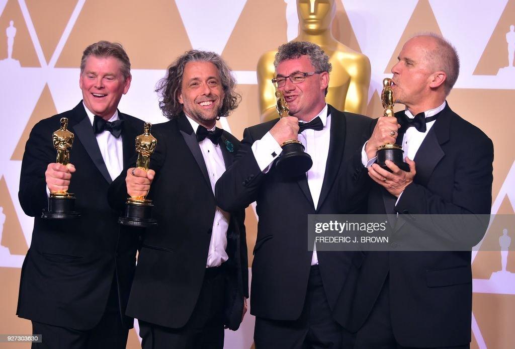 Visual effects artists Richard R  Hoover, Paul Lambert, Gerd