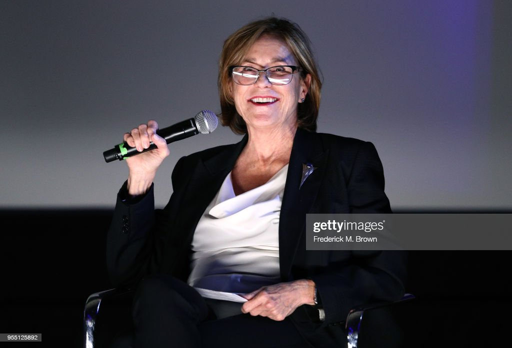 Visual Effects Producer Joyce Cox speaks onstage at the 2018 Film In California Conference at Los Angeles Center Studios on May 5, 2018 in Los Angeles, California.
