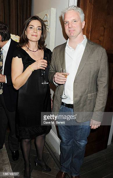Visual effects supervisor Ben Morris and wife Jules attend the Dreamworks PreBAFTA Tea Party in celebration of 'The Help' and 'War Horse' at The Arts...