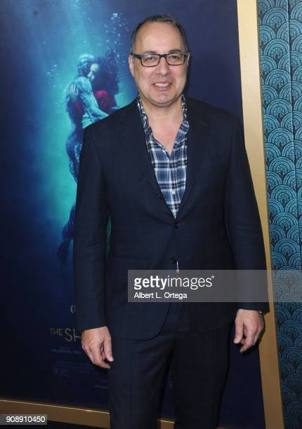 Visual effects supervisor Dennis Berardi arrives for the Premiere Of Fox Searchlight Pictures' 'The Shape Of Water' held at Academy Of Motion Picture...