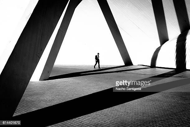 visual geometry - blanco y negro stock pictures, royalty-free photos & images