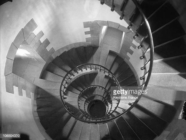 Visual Illusion Of A TopDown Shot From The Spiral Staircase On DecemberNovember 1933