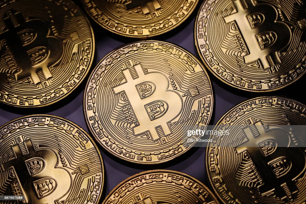 Bitcoin Continues To See Unprecedented Growth : News Photo