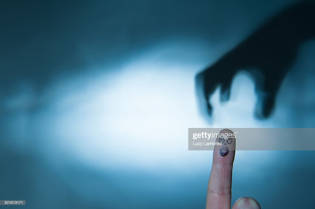 Visualize Fear : Stock Photo