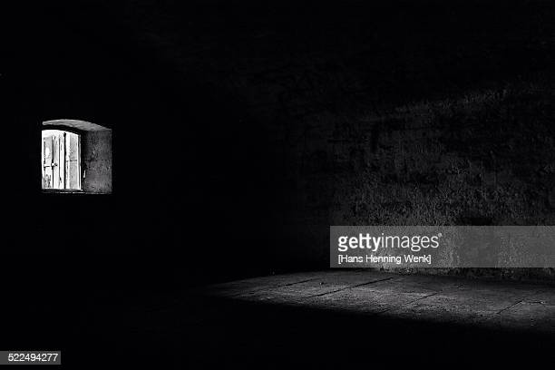 visualize fear - dungeon stock photos and pictures