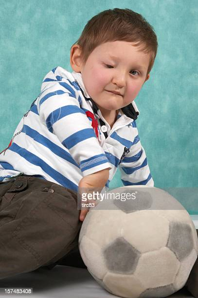 visually impaired youngster disability and sport portrait - love is blind stock pictures, royalty-free photos & images