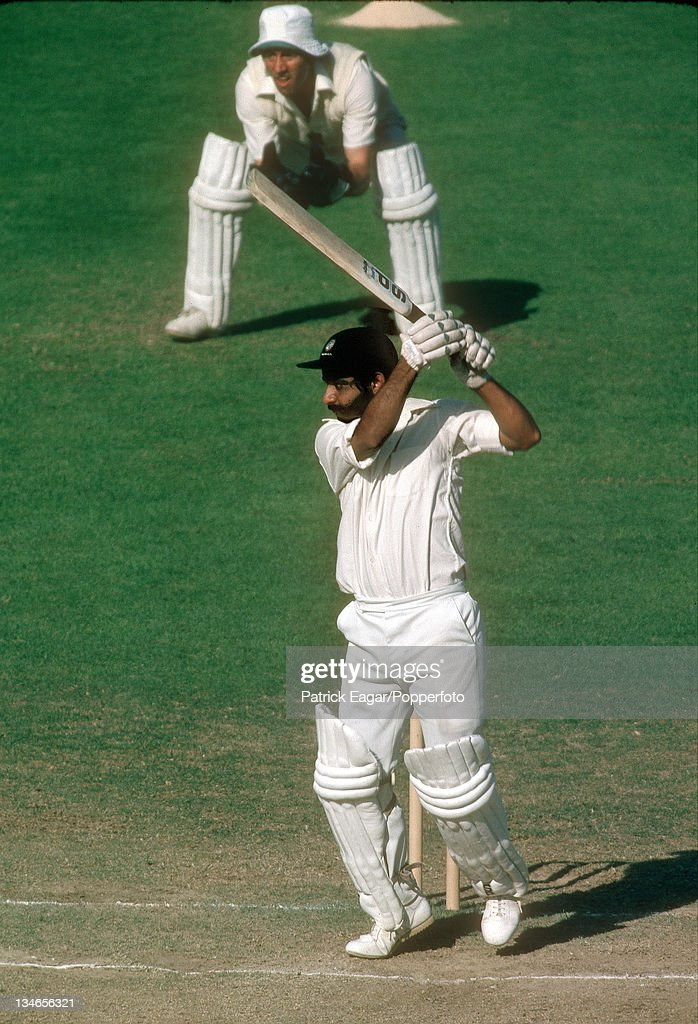 England v India, 2nd Test, Lord's, June 1979 : News Photo